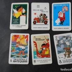 Coleccionismo Calendarios: CALENDARIOS DE ANTEQUERA AÑOS 60-70-80. Lote 126340039