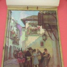 Coleccionismo Calendarios: INDUSTRIAS GRAFICAS CANTIN S.A. CALENDARIO DE PARED 1935. MAGNÍFICAS ILUSTRACIONES HOHENLEITER. Lote 126427895