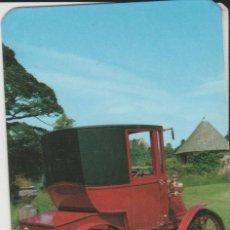 Coleccionismo Calendarios: CALENDARIOS CALENDARIO 1981 TEMA COCHES. Lote 199202623
