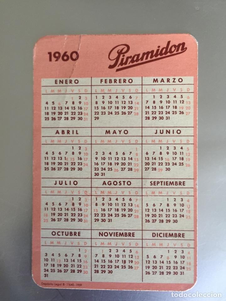Calendario 1960.Calendario 1960