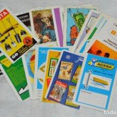 Coleccionismo Calendarios: VINTAGE - LOTE 21 CALENDARIOS - HERACLIO FOURNIER - VARIADOS - AÑOS 60, 70 Y 80 - ENVÍO 24H. Lote 147769821