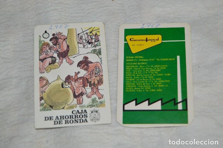 Coleccionismo Calendarios: VINTAGE - Lote 21 calendarios - HERACLIO FOURNIER - VARIADOS - AÑOS 60, 70 Y 80 - ENVÍO 24H - Foto 14 - 147769821