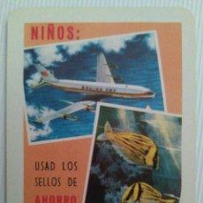 Coleccionismo Calendarios: CALENDARIO FOURNIER DE CAJA DE AHORROS DE ZARAGOZA, ARAGÓN Y LA RIOJA. AÑO 1964.. Lote 128112123