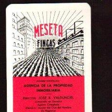 Coleccionismo Calendarios: MUY ESCASO CALENDARIO DE 1965. PUBLICIDAD MESETA FINCAS VER FOTOS QUE NO TE FALTE EN TU COLECCION . Lote 128418779