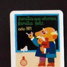 Coleccionismo Calendarios: ESCASO CALENDARIO FOURNIER AÑO 1971 EL DE LAS FOTOS CAJA INSULAR DE LA PALMA. Lote 128420791