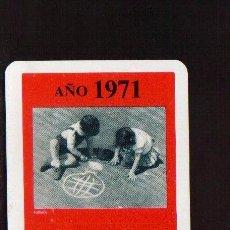 Coleccionismo Calendarios: ESCASO CALENDARIO FOURNIER AÑO 1971 EL DE LAS FOTOS CAJA DE AHORROS DE LA PALMA . Lote 128422679