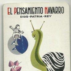 Coleccionismo Calendarios: CALENDARIO FOURNIER. EL PENSAMIENTO NAVARRO. AÑO 1970 . Lote 128474351