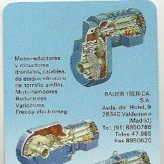 Coleccionismo Calendarios: CALENDARIO FOURNIER. BAUER. AÑO 1990 . Lote 128474571