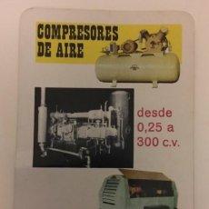 Coleccionismo Calendarios: CALENDARIO FOURNIER -1968- ABC CREPELLE COMPRESORES DE AIRE. BUEN ESTADO. Lote 128494627