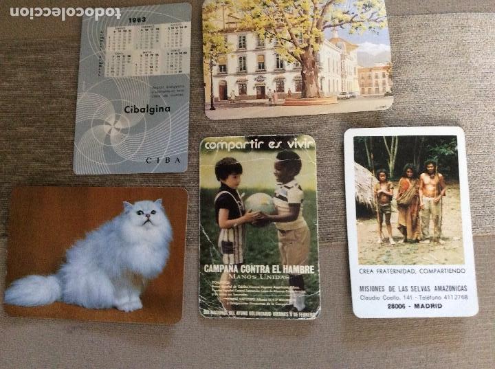 Coleccionismo Calendarios: Lote de 5 calendarios. - Foto 2 - 128646219