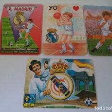 Coleccionismo Calendarios: CALENDARIOS DE BOLSILLO.REAL MADRID. Lote 128718463