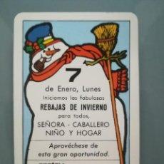 Coleccionismo Calendarios: CALENDARIO FOURNIER ECOCENTRO DE 1985. Lote 128810815