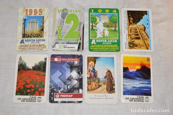 VINTAGE - LOTE DE 8 CALENDARIOS VARIADOS HERACLIO FOURNIER - AÑOS 60 A 90 - BUEN ESTADO - ENVÍO 24H (Coleccionismo - Calendarios)