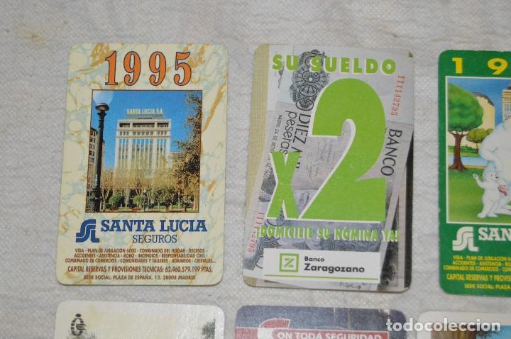Coleccionismo Calendarios: VINTAGE - LOTE DE 8 CALENDARIOS VARIADOS HERACLIO FOURNIER - AÑOS 60 A 90 - BUEN ESTADO - ENVÍO 24H - Foto 2 - 128929255