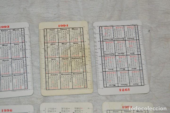 Coleccionismo Calendarios: VINTAGE - LOTE DE 8 CALENDARIOS VARIADOS HERACLIO FOURNIER - AÑOS 60 A 90 - BUEN ESTADO - ENVÍO 24H - Foto 8 - 128929255