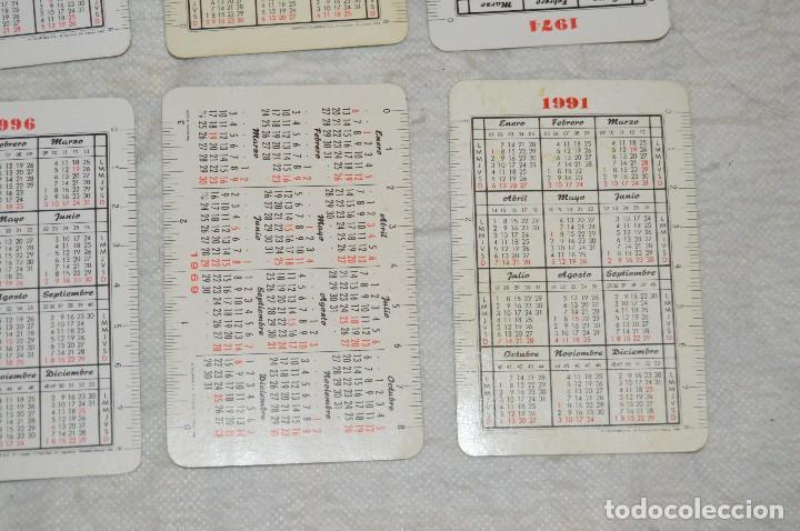 Coleccionismo Calendarios: VINTAGE - LOTE DE 8 CALENDARIOS VARIADOS HERACLIO FOURNIER - AÑOS 60 A 90 - BUEN ESTADO - ENVÍO 24H - Foto 9 - 128929255