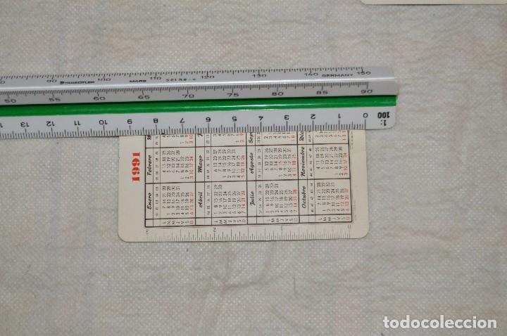 Coleccionismo Calendarios: VINTAGE - LOTE DE 8 CALENDARIOS VARIADOS HERACLIO FOURNIER - AÑOS 60 A 90 - BUEN ESTADO - ENVÍO 24H - Foto 11 - 128929255