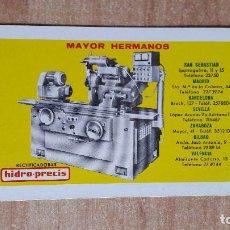 Coleccionismo Calendarios: CALENDARIO FOURNIER MAYOR HERMANOS - HIDRO PRECIS AÑO 1966 - VER FOTO ADICIONAL - . Lote 128966227
