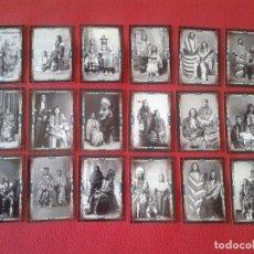 Coleccionismo Calendarios: LOTE DE 18 CALENDARIOS BOLSILLO PAREJAS Y MATRIMONIOS INDIOS INDIANS MARRIAGES COUPLES CALENDARS VER. Lote 129317155