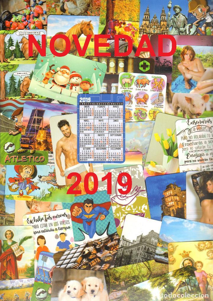 129 CALENDARIOS DE BOLSILLO - 2019 (Coleccionismo - Calendarios)