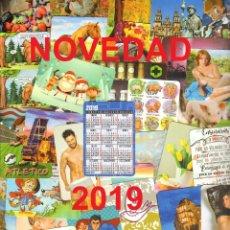 Coleccionismo Calendarios: 129 CALENDARIOS DE BOLSILLO - 2019. Lote 176390314