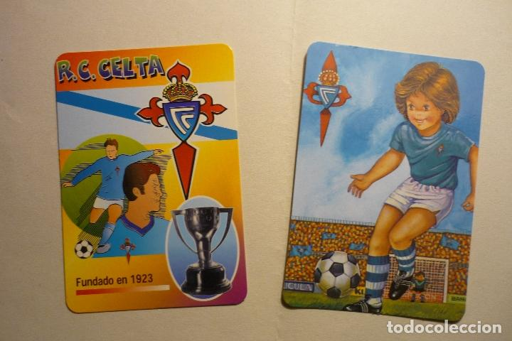 LOTE CALENDARIOS FUTBOL CELTA 1988-2000 (Coleccionismo - Calendarios)