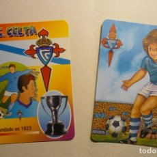 Coleccionismo Calendarios: LOTE CALENDARIOS FUTBOL CELTA 1988-2000. Lote 129730095