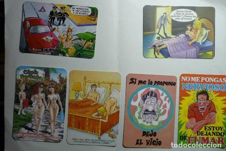 LOTE CALENDARIOS CHISTES .- DIF,AÑOS (Coleccionismo - Calendarios)