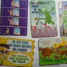 Coleccionismo Calendarios: LOTE CALENDARIOS HUMOR VARIOS AÑOS. Lote 130876668