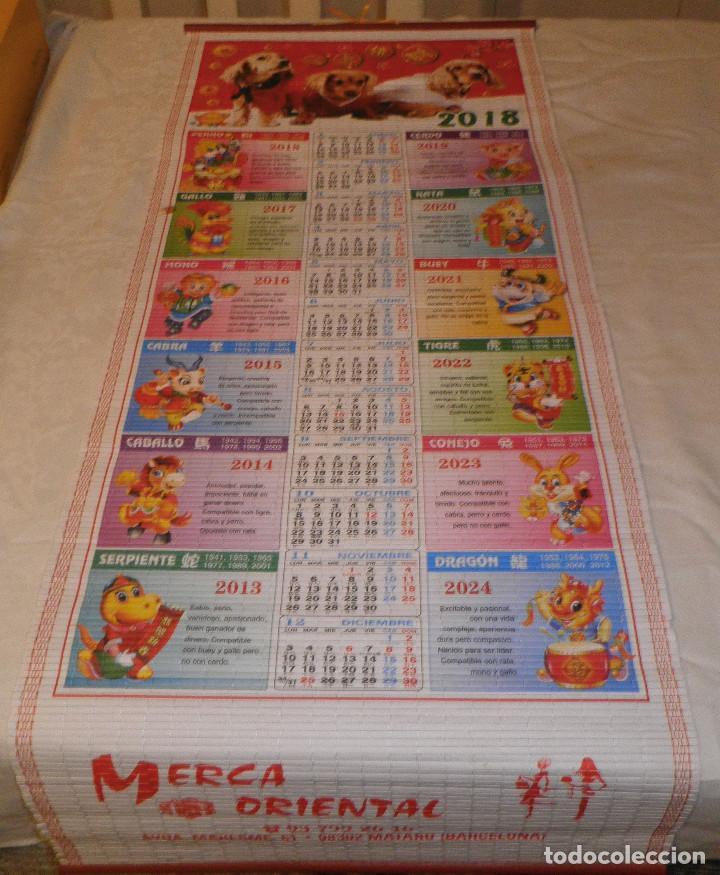 Calendario Chino.Calendario Chino 2018 Con Las Fechas Y Animales Del Horoscopo Chino