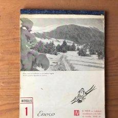 Coleccionismo Calendarios: CURIOSO CALENDARIO 1941 DE LA COMPAÑIA DE TRENES MZA - AÑO DE SU DESAPARICION - RENFE FERROCARRILES. Lote 131074524