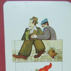 Coleccionismo Calendarios: CALENDARIO FOURNIER BANCO BILBAO. Lote 131135252