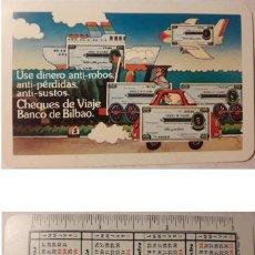 Coleccionismo Calendarios: CALENDARIO H. FOURNIER. BANCO DE BILBAO 1978. Lote 131165700