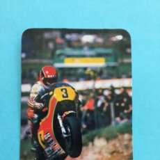 Coleccionismo Calendarios: CALENDARIO 1984 MOTO - ESCUELA AUTOMOVILÍSTICA J. MARCOS MADRID _LEY075. Lote 131301995