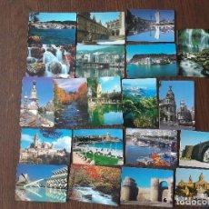 Coleccionismo Calendarios: LOTE DE 20 CALENDARIOS DE SERIE DE PAISAJES Y MONUMENTOS AÑOS 2000. Lote 131589254