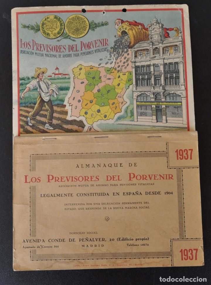 Calendario 1937.Almanaque Calendario 1937 Guerra Civil Los Prev Sold
