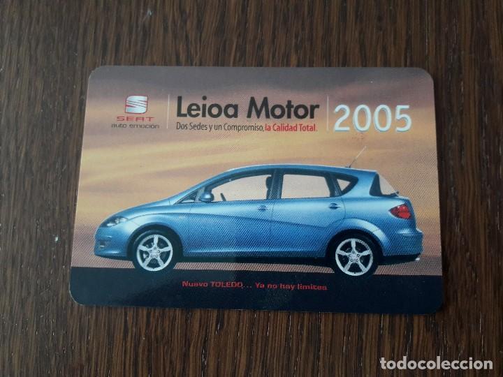 Calendario Max 2005.Calendario De Publicidad Leioa Motor Seat Ano 2005