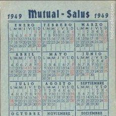Coleccionismo Calendarios: CALENDARIO DE BOLSILLO 1949. Lote 132167034