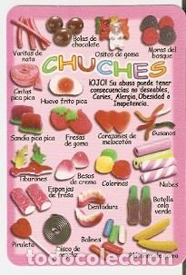 CALENDARIO AÑO 2012. CHUCHES. REF. 11-12L254 (Coleccionismo - Calendarios)