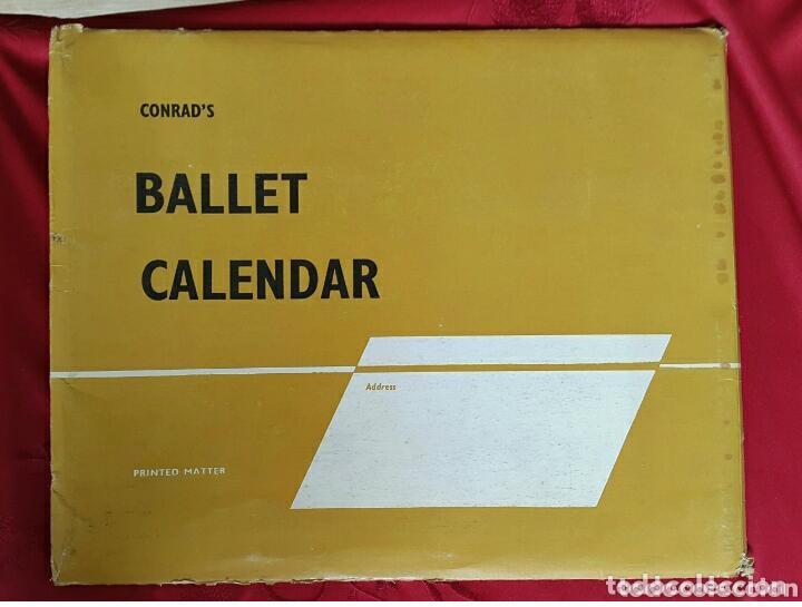 Coleccionismo Calendarios: BALLET CARPETA CON 18 POSTALES RUDOLF NUREYEV Y CALENDARIO DE 1966 - Foto 9 - 132836734