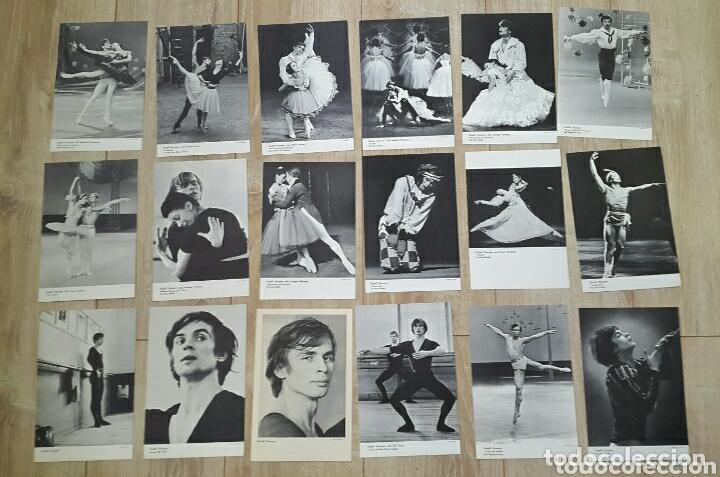 Coleccionismo Calendarios: BALLET CARPETA CON 18 POSTALES RUDOLF NUREYEV Y CALENDARIO DE 1966 - Foto 11 - 132836734