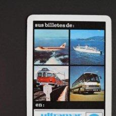 Coleccionismo Calendarios: CALENDARIO BOLSILLO - ULTRAMAR EXPRESS - AGENCIA DE VIAJES - FOURNIER - AÑO 1985. Lote 132891662