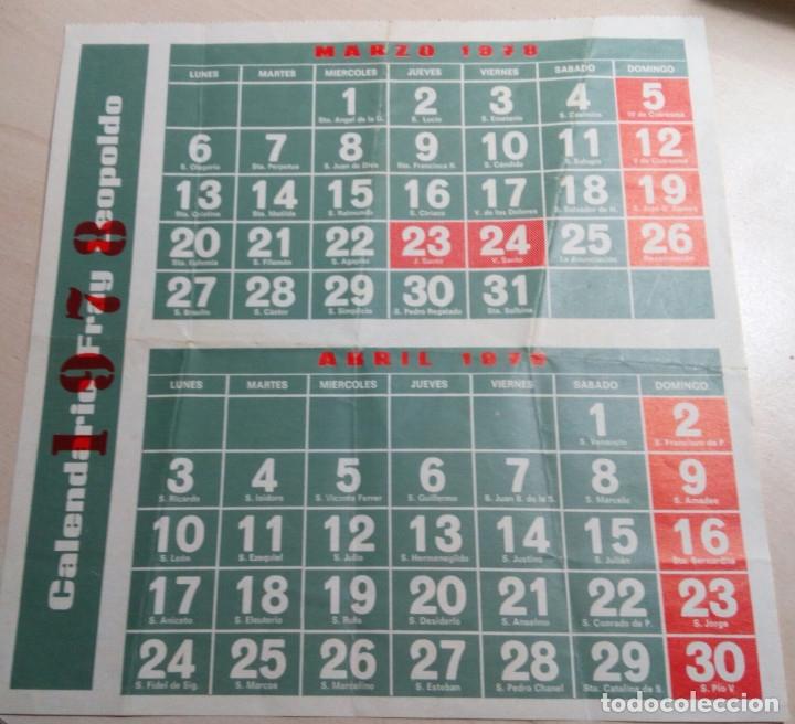 Calendario De 1978.Calendario De Fray Leopoldo De 1978 Milagros Fray Leopoldo