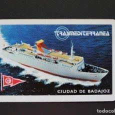 Coleccionismo Calendarios: CALENDARIO BOLSILLO - TRASMEDITERRANEA - FOURNIER - AÑO 1979. Lote 132983262