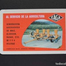 Coleccionismo Calendarios: CALENDARIO BOLSILLO - ZAGA - FOURNIER - AÑO 1960. Lote 133001578
