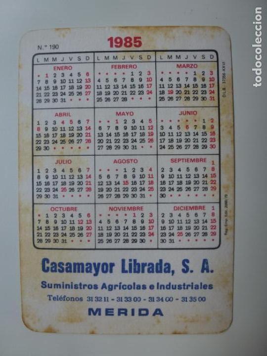 Coleccionismo Calendarios: CALENDARIO 1985. - Foto 2 - 133243094