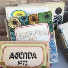 Coleccionismo Calendarios: COLECCIÓN DE AGENDAS. Lote 133368461