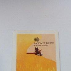 Coleccionismo Calendarios: CALENDARIO FOURNIER BANCO DE BILBAO 1972 . Lote 133416838