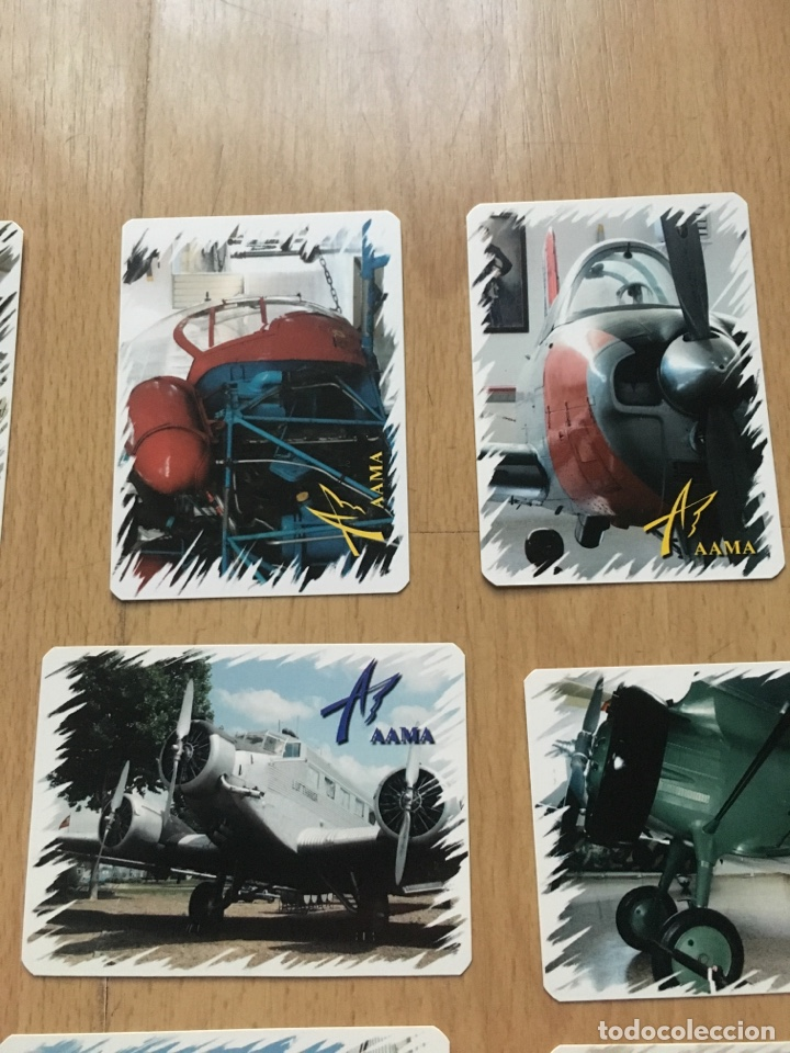 Coleccionismo Calendarios: Lote calendarios aviones de la AAMA año 2006 - Foto 3 - 133468694