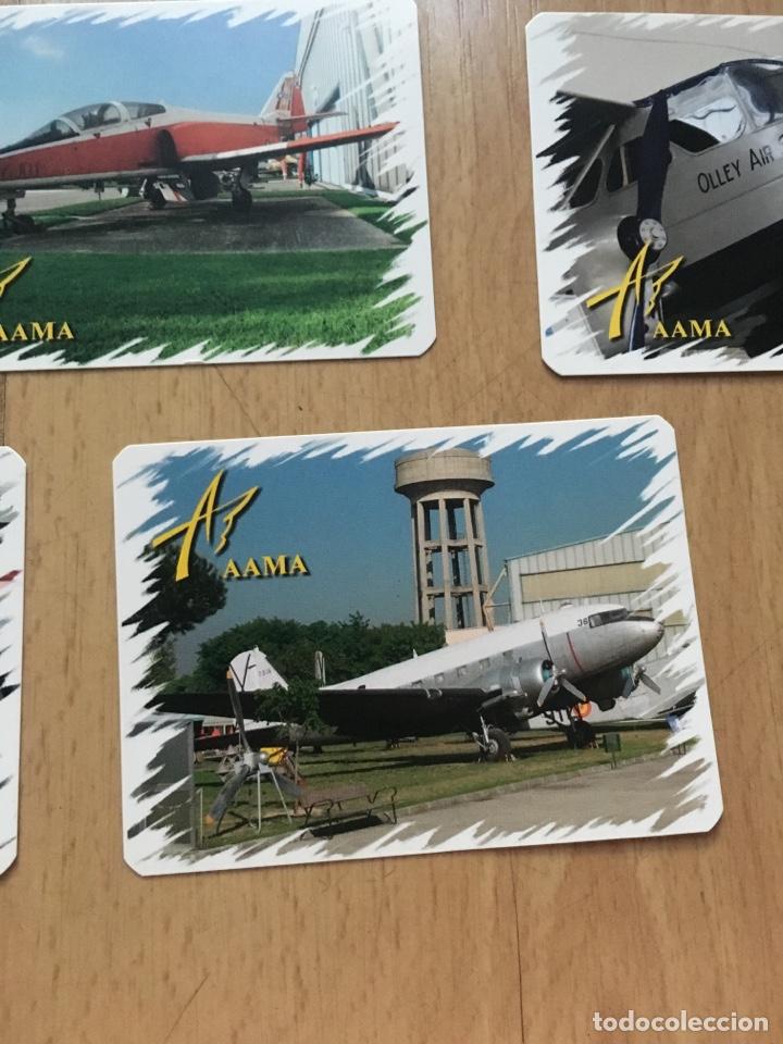 Coleccionismo Calendarios: Lote calendarios aviones de la AAMA año 2006 - Foto 7 - 133468694